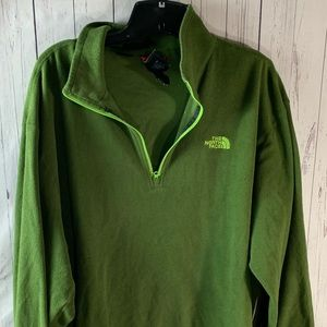 Men's extra large fleece the north face pullover